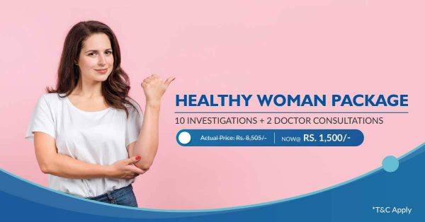Healthy Woman health checkup package
