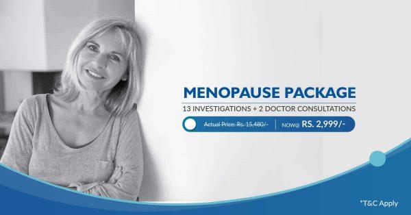 Menopause health checkup package