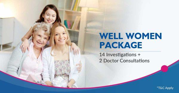Medicover Nashik well women package