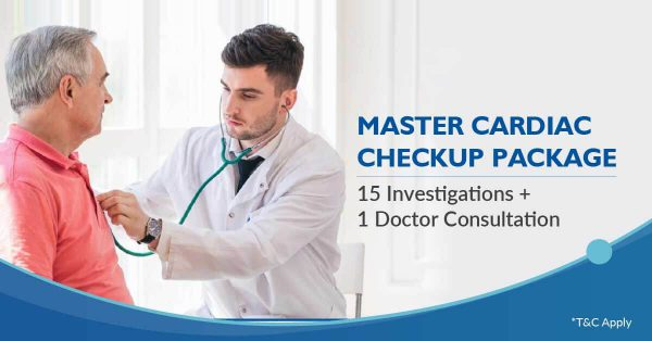 Master Cardiac health Checkup Package