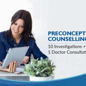 Mediocover Vishakapatanam Preconception counselling package