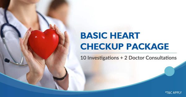Basic heart checkup package sangareddy