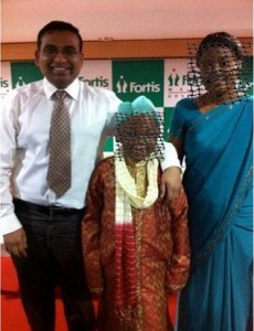 G V Prasanna International patients