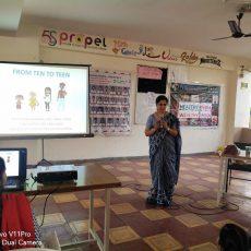 health education class by dr prabha
