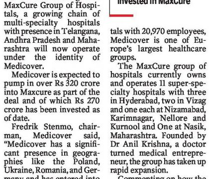 maxcure is now medicover