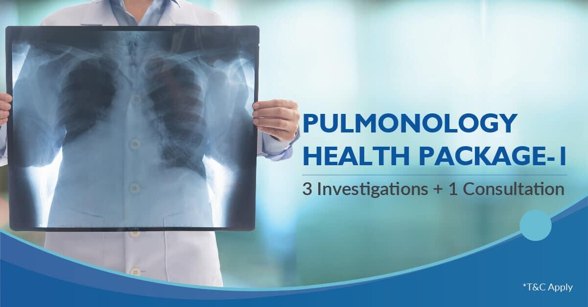 Pulmonology health checkup package 1