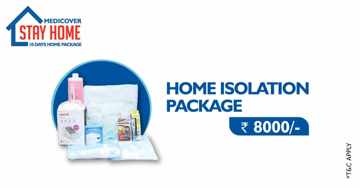 10 days  Home Isolation Package